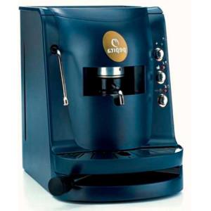macchina caffe pepita blu