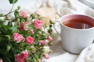 tazza di tè aromatizzato
